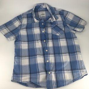Arizona Short Sleeve Button Down Shirt HUSKY 14/16